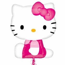 MAXI Fóliový balón Hello Kitty ružový