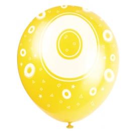 """Latexové balóny """"0"""""""