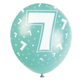 """Latexové balóny """"7"""""""
