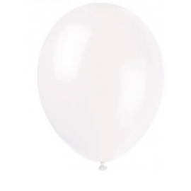 Balóny biele 50ks