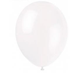 Balóny biele 25ks