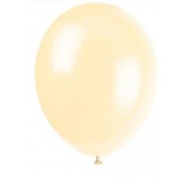 Balóny krémové 25ks