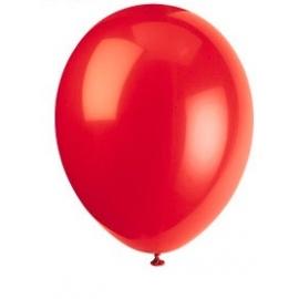 Balóny tmavo - červené 50ks