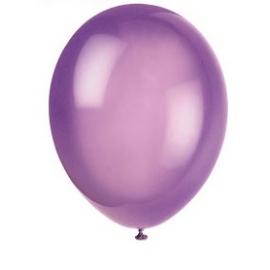 Balóny fialové 25ks