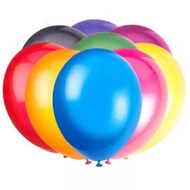 50 ks balóny latexové crystal mix farieb