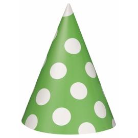 Klobúčik Dots zelený
