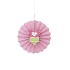 Rozetková dekorácia baby girl