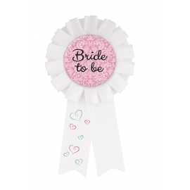 Odznak Bride to be