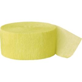 Krepový papier kanárikovo-žltá
