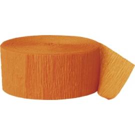 Krepový papier oranžová