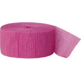 Krepový papier rúžová