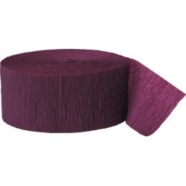 Krepový papier burgundy