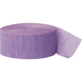 Krepový papier levanduľová