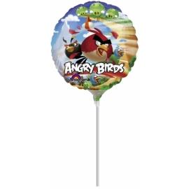 Mini fóliový balón Angry Birds family
