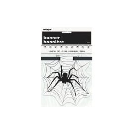 Závesná pavučina s pavúkom