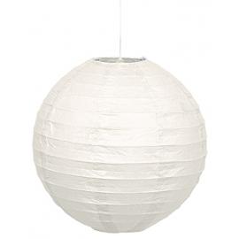 Lampion biely