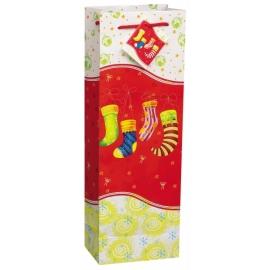 Vianočná taška ponožky