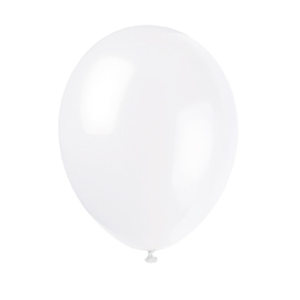 Balóny biele