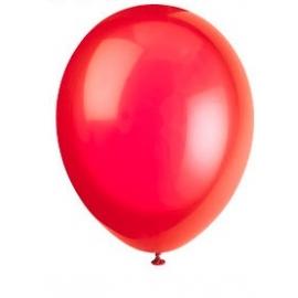 Balóny červené