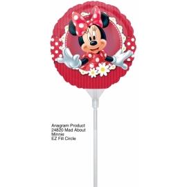 "Mini Fóliový balón 9"" Minnie 2"