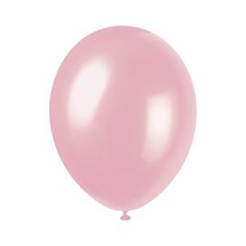 Perleťové balóny ružové