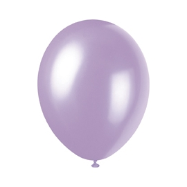 Perleťové balóny levanduľové