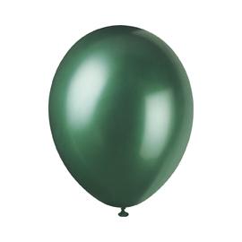 Perleťové balóny zelené