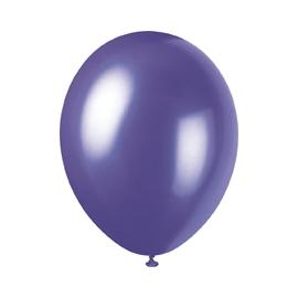 Perleťové balóny fialové