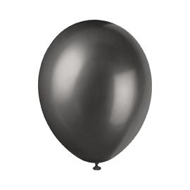 Perleťové balóny čierne