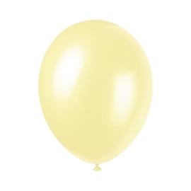 Perleťové balóny slonovinová kosť