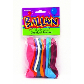 Balony latexové mix farieb