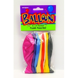 Latexové balóny mix pastelové farby