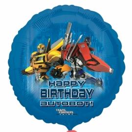 Foliový balón Transformers Autobot Happy birthday