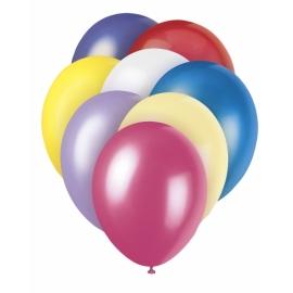 Perleťové balóny pastel mix