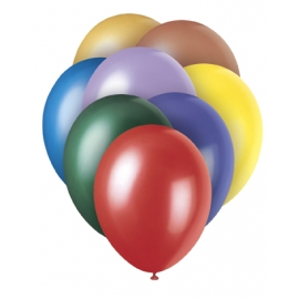 Perleťové balóny mix štandard