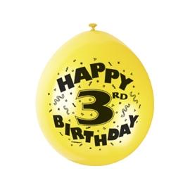 Balóny 3.narodeniny
