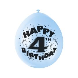 Balóny 4.narodeniny