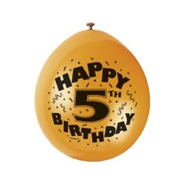 Balóny 5.narodeniny