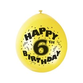Balóny 6.narodeniny