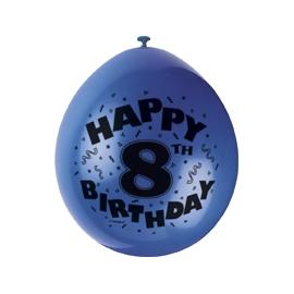 Balóny 8.narodeniny