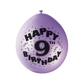 Balóny 9.narodeniny