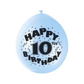 Balóny 10.narodeniny