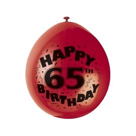 Balóny 65.narodeniny