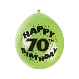 Balóny 70. narodeniny