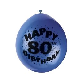 Balóny 80. narodeniny