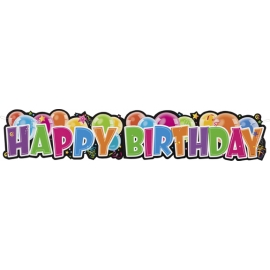 Banner Happy Birthday -