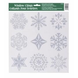 Okenné nálepky Snehové vločky