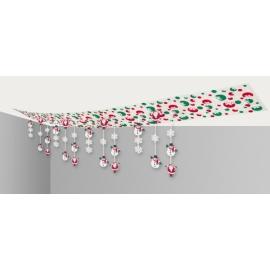 Dekorácie plafónové Vianoce