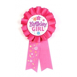Dievčenská mašľa Happy Birthday