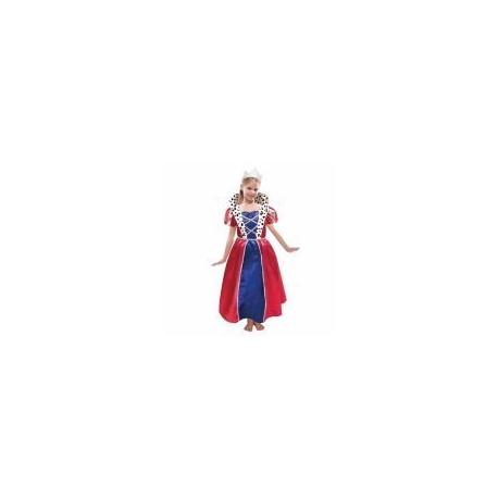 Kostým Kráľovná 3-5 rokov